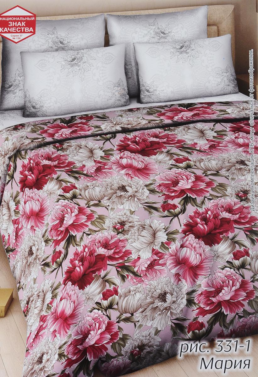 Комплект белья Василиса Мария, 2-спальный, наволочки 70х70331/2Комплект постельного белья Василиса Мария состоит из пододеяльника, простыни и двух наволочек. Постельное белье оформлено оригинальным рисунком и имеет изысканный внешний вид. Белье изготовлено из поплина (100% хлопка). Неоспоримым плюсом постельного белья из такой ткани является мягкость и легкость, она прекрасно пропускает воздух, приятная на ощупь и за ней легко ухаживать.Приобретая комплект постельного белья Василиса Мария, вы можете быть уверенны в том, что покупка доставит вам и вашим близким удовольствие и подарит максимальный комфорт.