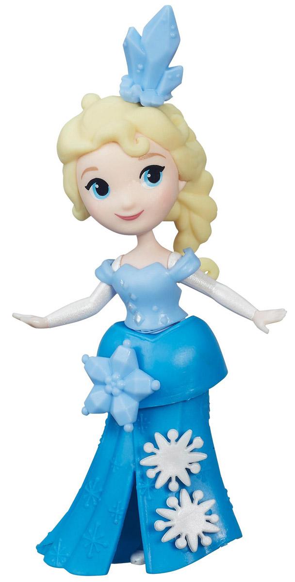 Disney Frozen Мини-кукла Эльза disney мини кукла холодное сердце эльза в голубом платье 7 5 см