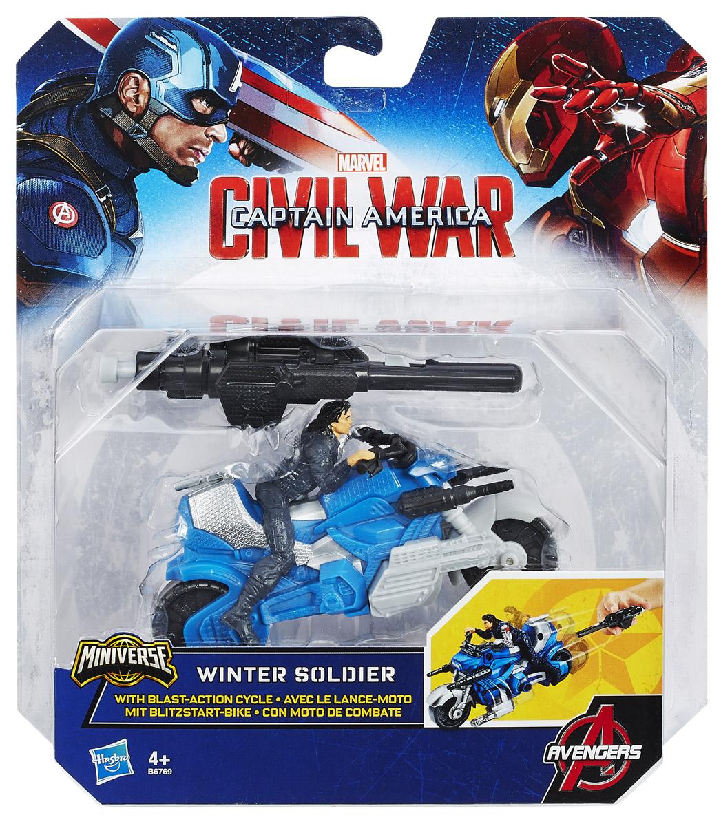 Avengers Боевой мотоцикл Winter Soldier с фигуркой