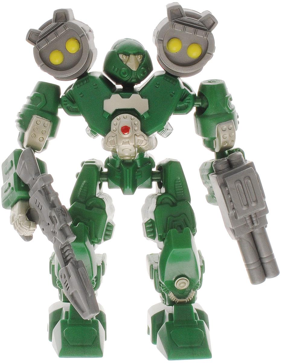 Happy Kid Робот-трансформер Марс цвет зеленый