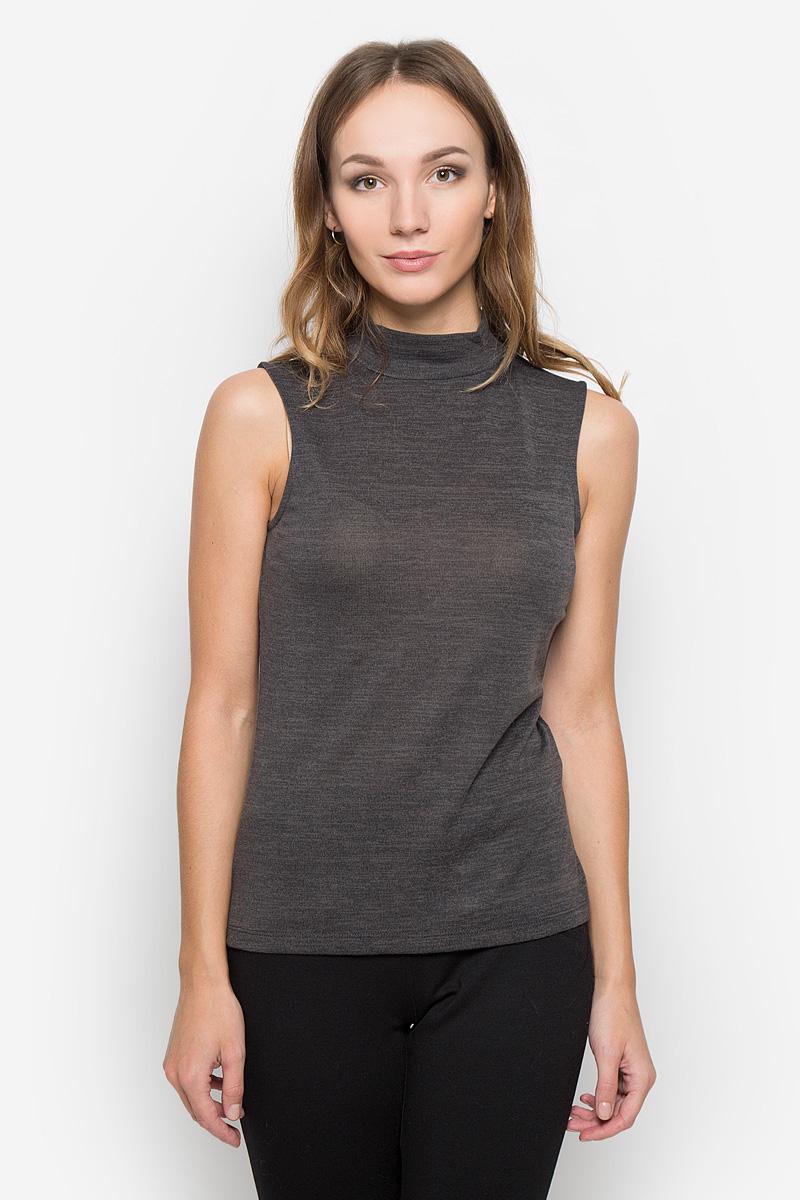Топ женский Broadway, цвет: темно-серый меланж. 10156682. Размер M (46) юбка broadway broadway br004ewccov2