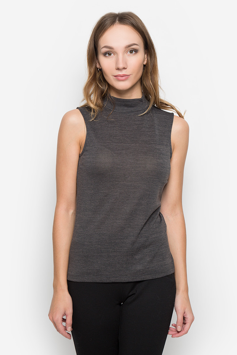 Топ женский Broadway, цвет: темно-серый меланж. 10156682. Размер M (46) пуловеры broadway пуловер