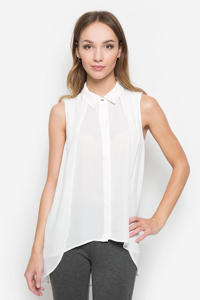 Блузка женская Broadway Neeka, цвет: молочный. 10156507. Размер M (46) платье broadway ophira цвет бордовый 10156494 335 размер m 46