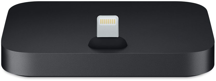 Apple iPhone Lightning Dock, Black док-станция apple lightning на microusb адаптер