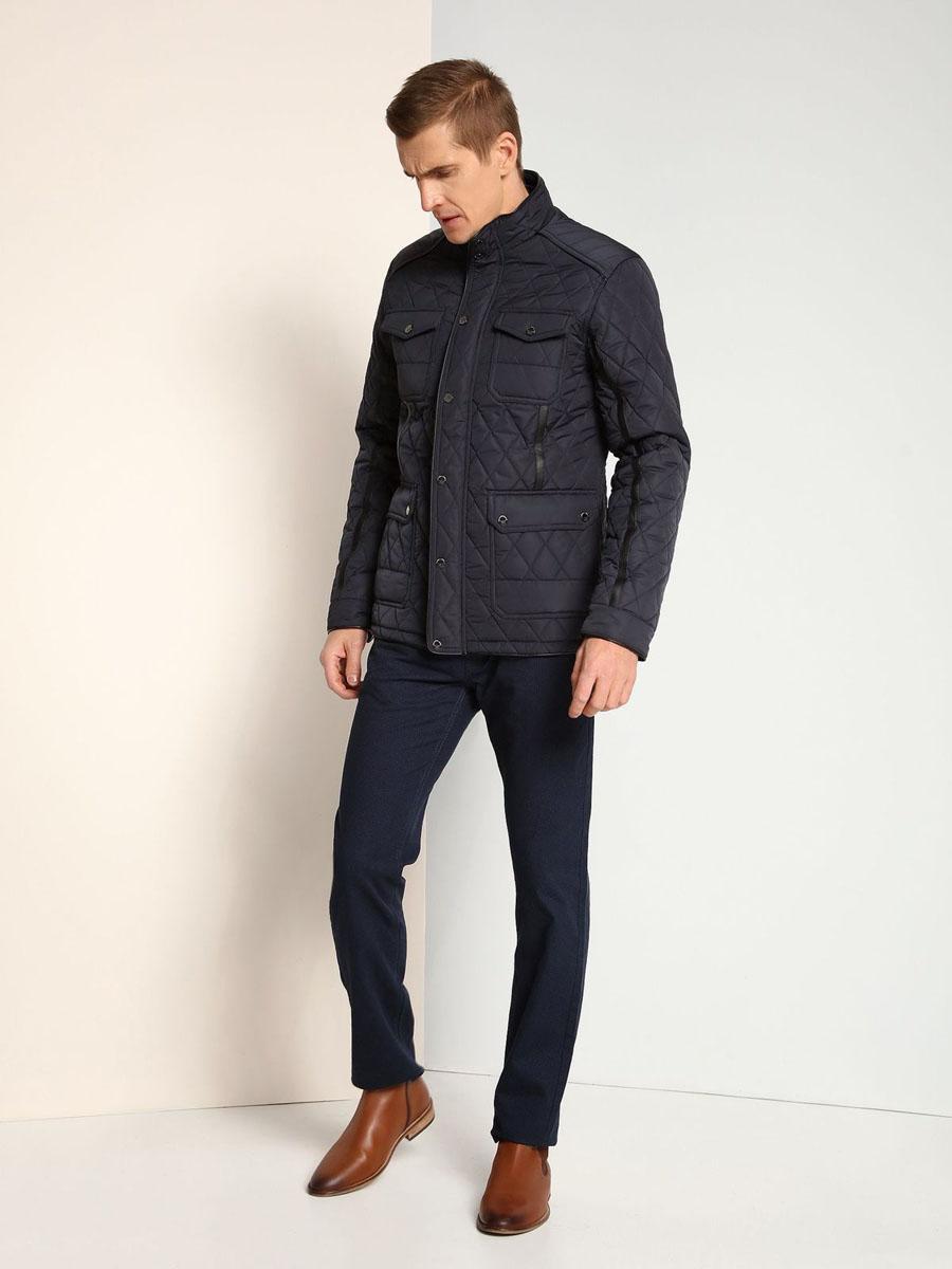 Куртка мужская Top Secret, цвет: темно-синий. SKD0140GR. Размер M (48)SKD0140GR