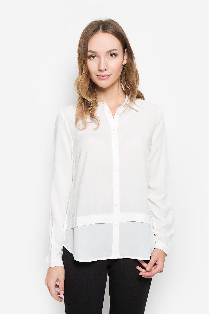 Блузка женская Broadway Necla, цвет: белый. 10156502. Размер M (46)