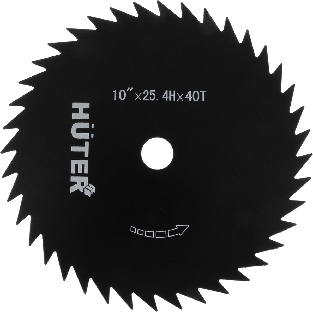 Диск-лезвие Huter GTD-40T, ширина скоса 255 мм71/2/7Диск-лезвие GTD-40T (255 мм) - режущая оснастка для триммеров Huter. Используется со следующими моделями инструмента: GGT-800S(T), GGT-1000S(T), GGT-1300S(T), GGT-1500S(T), GGT-1900S(T). Подойдет для обрезки низкорасположенных веток кустарников, а также тонких стволов деревьев. Обладает высокой износостойкостью, что гарантирует длительный срок службы при правильной эксплуатации.Количество лопастей - 40Ширина скоса - 255 мм.