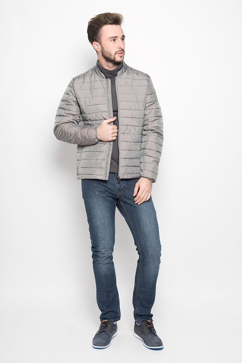 Куртка мужская Broadway Noam, цвет: серый. 20100303. Размер XXL (54) куртка мужская broadway noam цвет черный 20100303 размер xxl 54