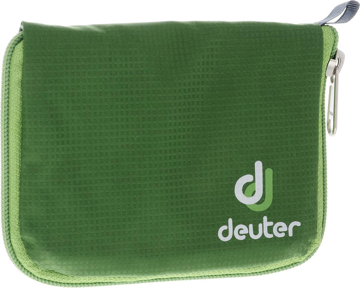 Кошелек спортивный Deuter Zip Wallet Emerald, цвет: зеленый
