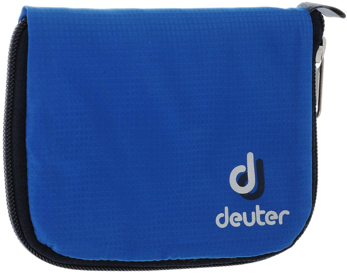 Кошелек спортивный Deuter Zip Wallet Bay, цвет: голубой zip clutch faux leather wallet