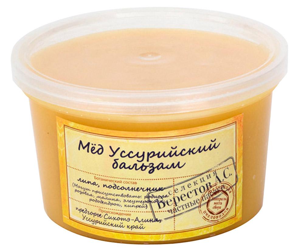 Берестов Мед Уссурийский бальзам, 360 г как фермеру быстро продать мед