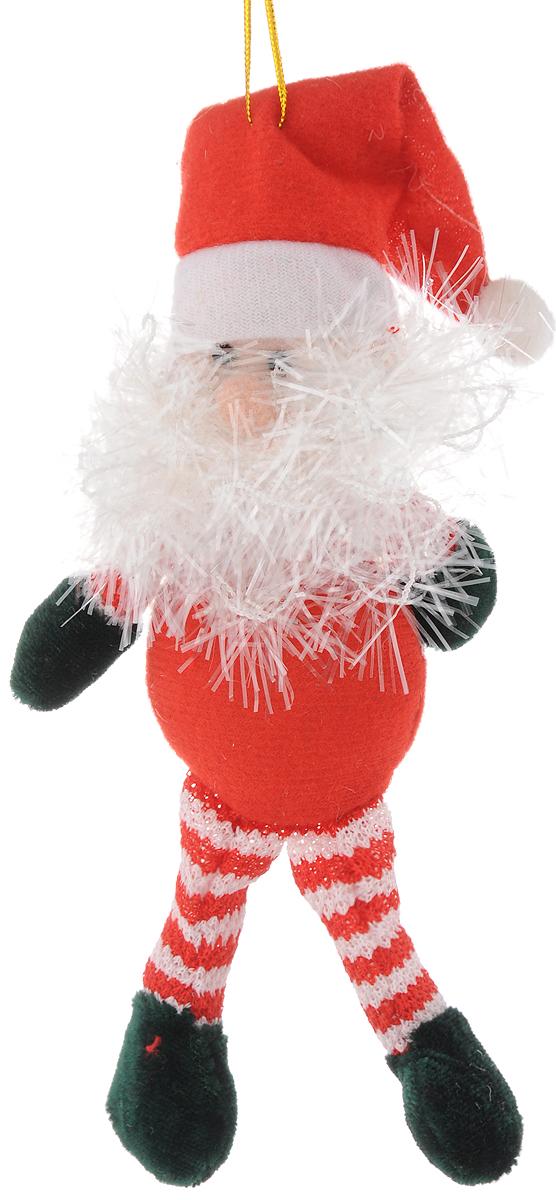 Украшение новогоднее подвесное Феникс-Презент Дед мороз полосатый, 20 x 10 см42523Новогоднее подвесное украшение Феникс-Презент Дед мороз полосатый выполнено из полиэстера в виде мягкой фигурки Деда Мороза. С помощью специальной петельки украшение можно повесить в любом понравившемся вам месте. Но, конечно, удачнее всего оно будет смотреться на праздничной елке.Елочная игрушка - символ Нового года. Она несет в себе волшебство и красоту праздника. Создайте в своем доме атмосферу веселья и радости, украшая новогоднюю елку нарядными игрушками, которые будут из года в год накапливать теплоту воспоминаний.Материал: полиэстер.Размеры: 20 х 10 см.
