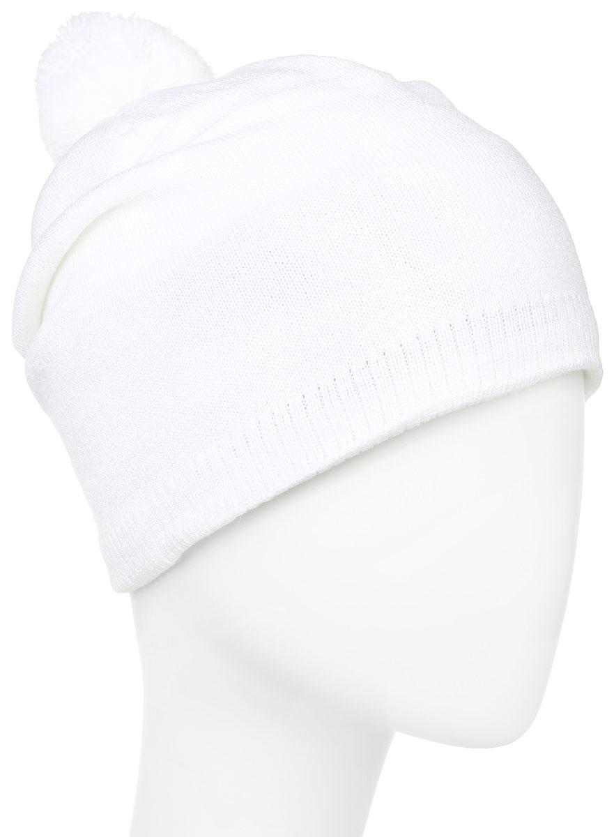 Шапка Salomon Escape Beanie, цвет: белый. L37568700. Размер универсальныйL37568700Вязаная шапка Salomon Escape Beanie выполнена из 100% акрила, имеет вшитую повязку для поглощения влаги из 100% полиэстера. Модель украшена небольшим помпоном.