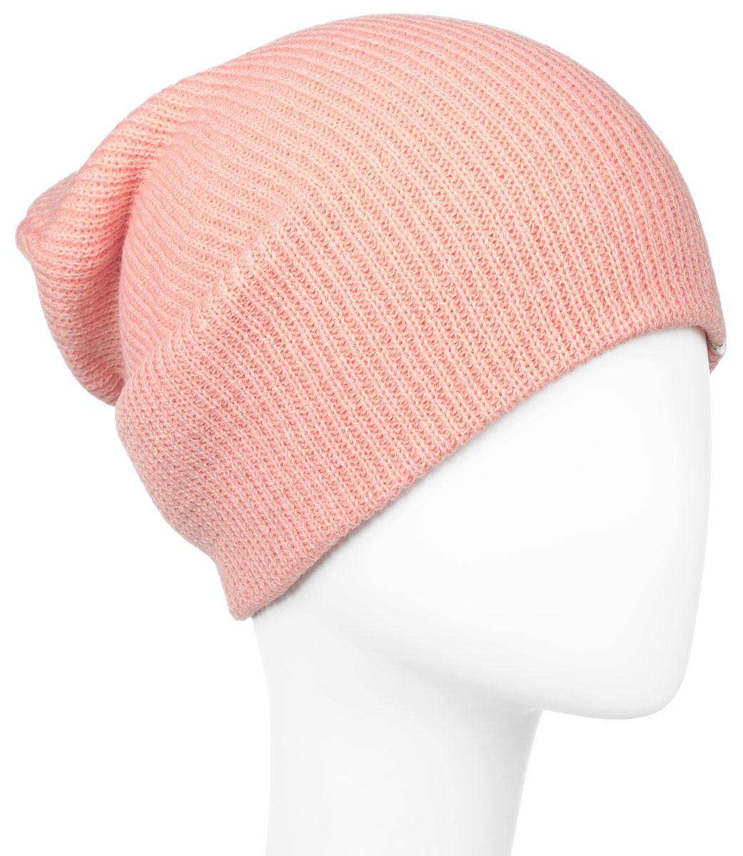 Шапка женская ONeill Bw Chamonix, цвет: розовый. 659128-4061. Размер универсальный659128-4061Удлиненная женская спортивная шапка ONeill Bw Chamonix выполнена из 100% акрила. Модель связана резинкой и превосходно тянется.