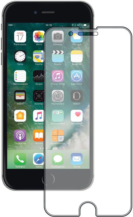 Deppa защитное стекло для Apple iPhone 7 Plus / 8 Plus, Clear62032Защитное стекло Deppa для смартфона Apple iPhone 7 Plus / 8 Plus изготовлено из специально обработанного многослойного закаленного стекла прочности 9H.Клеевой слой на задней поверхности позволяет легко устанавливать закаленное стекло без особых навыков. Олеофобное покрытие предотвратит появление следов от пальцев и сохранит чувствительность сенсора смартфона. Защитное стекло Deppa максимально защитит экран от царапин, повреждений, влаги и ударов.