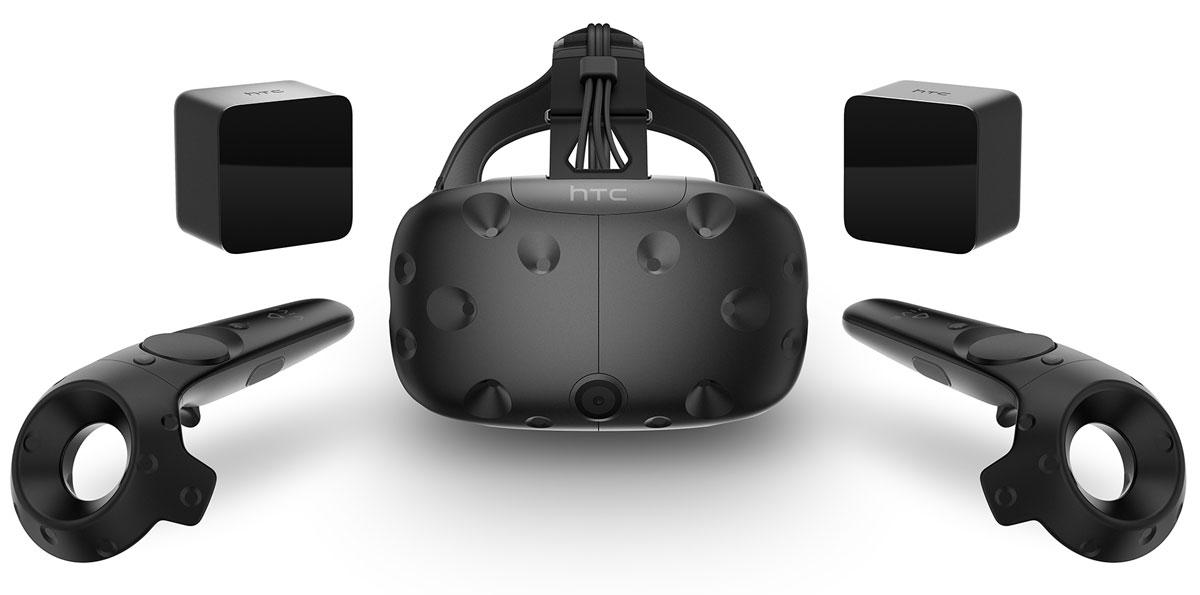 HTC Vive шлем виртуальной реальностиHTC-99HALN007-00Vive является совместной разработкой компаний HTC и Valve. Система Vive - это самая лучшая и передовая реализация возможностей виртуального мира. Она создана на платформе Steam VR и поддерживает технологию SteamVR Tracking 1.0 и систему навигации Chaperone. Vive - это не только шлем, это первая в своем роде система виртуальной реальности. Наденьте шлем и мгновенно и полностью - визуально, физически и эмоционально - перенеситесь в мир, наполненный впечатляющими персонажами и новыми мирами.Стоит только надеть шлем Vive, как вы сразу попадете в мир, полный сюрпризов. Свободно двигайтесь и исследуйте пространство вокруг себя - безопасное перемещение в игровой среде обеспечивается интегрированной интуитивно понятной системой Chaperone. Потрясающая графика отвечает за ощущения реальности и, одновременно, нереальности, происходящего.Сверхточная обратная связь и привычные жесты гарантируют интуитивно понятное взаимодействие с виртуальным миром во время игр и работы с различными приложениями. Каждый беспроводной контроллер системы Vive снабжен 24 сенсорами, что обеспечивает свободу движений. Теперь перед вами открыто гораздо больше возможностей действий в виртуальном пространстве.При использовании системы Vive каждое движение отслеживается с высочайшей точностью. Это достигается благодаря революционной технологии базовых станций, когда шлем и контролеры получают точные координаты своего положения в пространстве. Исследуйте виртуальный мир и взаимодействуйте с ним без каких-либо ограничений. В VR с передвижением по комнате вы действительно окажетесь в самом центре происходящего.Шлем подходит для использования с очками практически любой формы. Он комплектуется двумя лицевыми накладками и подстраиваемыми ремешками. Регулируется расстояние между окулярами, а так же расстояние между линией глаз и экраном.Возможность передвигаться по комнате в процессе игры по диагонали до 5 метровКонтроллеры имеют встроенный заряжаемый литий-ион