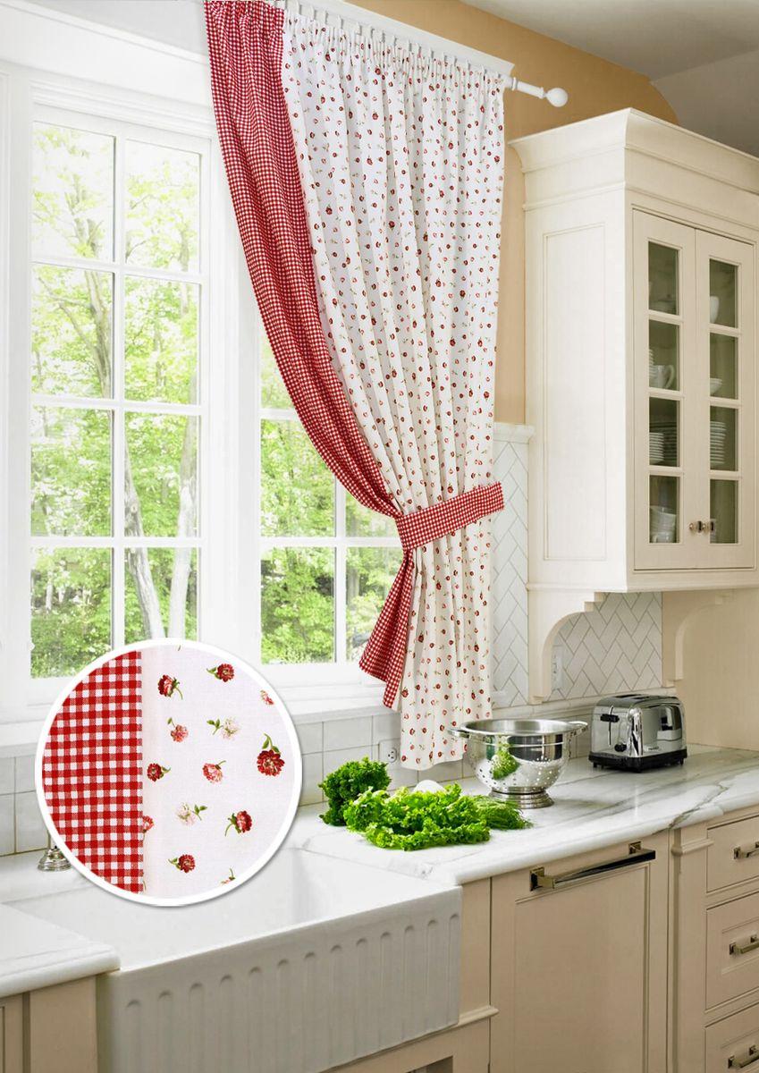 дизайн занавесок для кухни фото проведенное