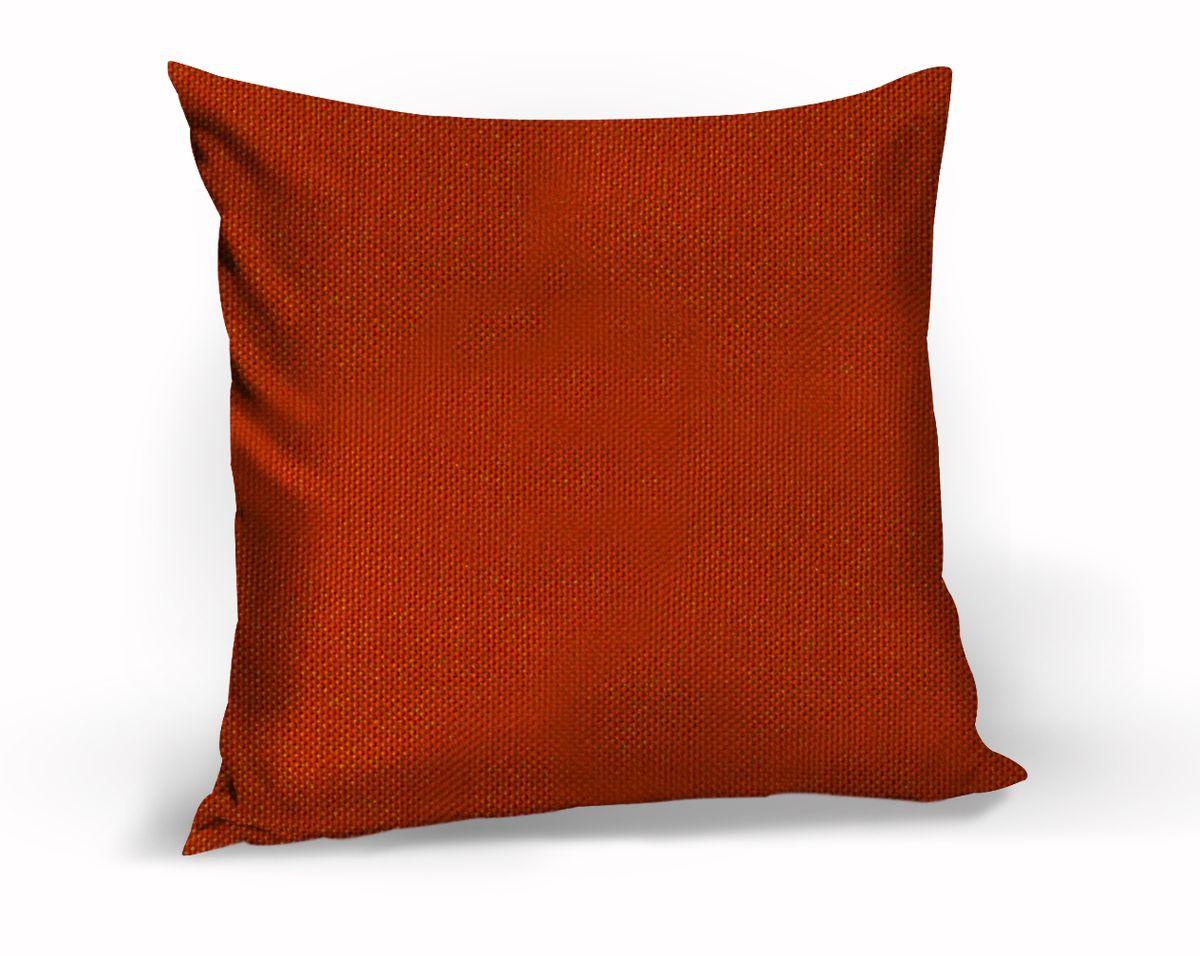 Подушка декоративная KauffOrt Комо, цвет: красный, 40 x 40 см3121540130Декоративная подушка Комо прекрасно дополнит интерьер спальни или гостиной. Чехол подушки выполнен из лонеты. Внутри находится мягкий наполнитель. Чехол легко снимается благодаря потайной молнии.