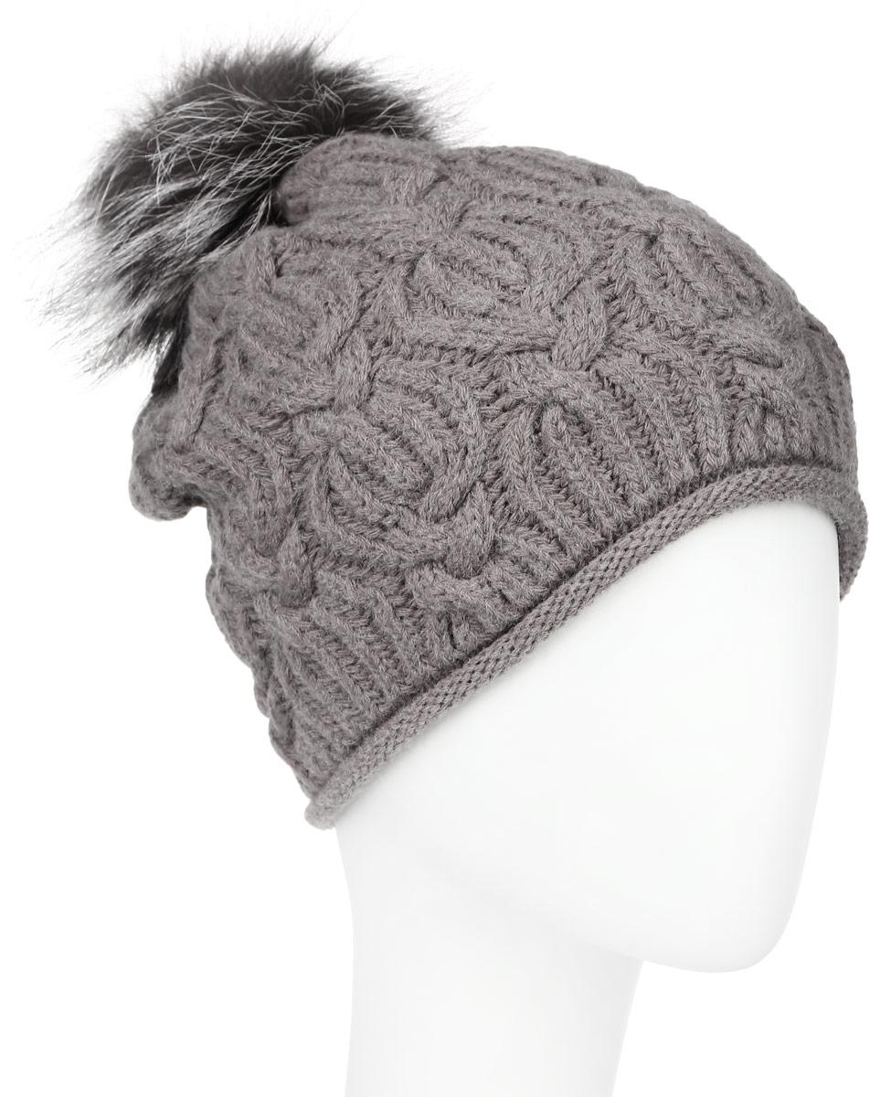 Шапка женская Baon, цвет: коричневый. B346540. Размер универсальный шапка женская baon цвет темно синий b346512 размер универсальный