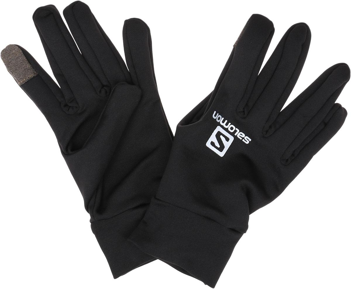 Перчатки Salomon Active Glove U, цвет: черный. L39014400. Размер S (8)