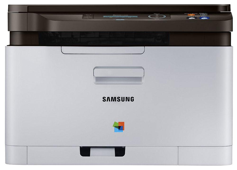 Samsung Xpress SL-C480W лазерное МФУSL-C480WSamsung Xpress SL-C480W - цветное лазерное МФУ с множеством современных технологий.Оцените простую 3-шаговую процедуру установки МФУ без подключения через USB порт. Программа SPSI (Samsung Printer S/W Installer) автоматически выбирает ОС и устанавливает драйвер без использования CD диска.Благодаря поддержке NFC технологии, мобильная печать никогда не была столь простой. Просто коснитесь МФУ смартфоном с поддержкой NFC и бесплатное приложение для мобильной печати автоматически установится, если оно еще не было установлено на телефоне, после чего принтер автоматически подключится к данному устройству.Наконец-то появился долгожданный функциональный принтер с универсальной поддержкой печати с различных мобильных устройств. МФУ Xpress C480W совместим с интуитивно простым в управлении приложением для мобильной печати Mobile Print app для мобильных устройств на iOS, Android, для смартфонов на Microsoft Windows и устройств Amazon Kindle.Простая процедура печати. МФУ Samsung Xpress SL-C480W поддерживает различные типы приложений для мобильной печати типа Samsung Mobile Print, Samsung Cloud Print, Google Print и Airprint.Данная модель отличается наличием картриджа с ресурсом печати до 1 500, что позволит вам повысить производительность и в то же время снизить эксплуатационные затраты. Оптимизируйте вашу работу по печати с помощью эко функций. Кнопка эко-печати в одно касание позволит переключить принтер в режим экономичной печати, а эко-драйвер Samsung Easy Eco Driver удалит с отпечатков изображения и текст, сконвертировав их в контурный рисунок.Технология обработки страниц Samsung ReCP обеспечивает чистые изображения и четкий текст, а умная система управления цветом Smart CMS гарантирует превосходное качество печати с мобильных устройств, автоматически оптимизирует изображение, повышая резкость и удаляя пустые белые промежутки.Samsung Xpress SL-C480W оснащен улучшенным процессором с частотой 800 МГц, что позволяет печатать со скоро