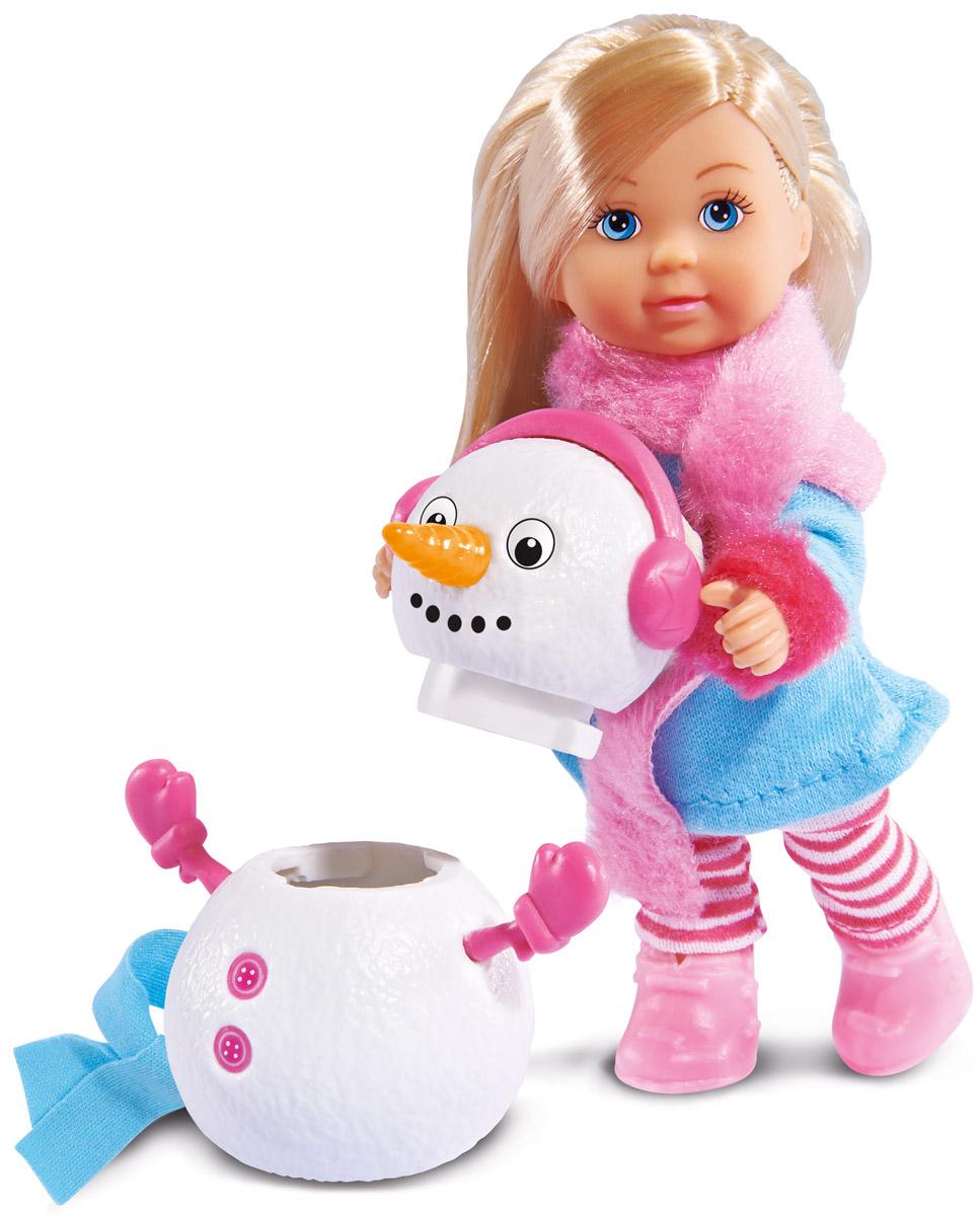 Simba Кукла Еви и снеговик simba кукла evi