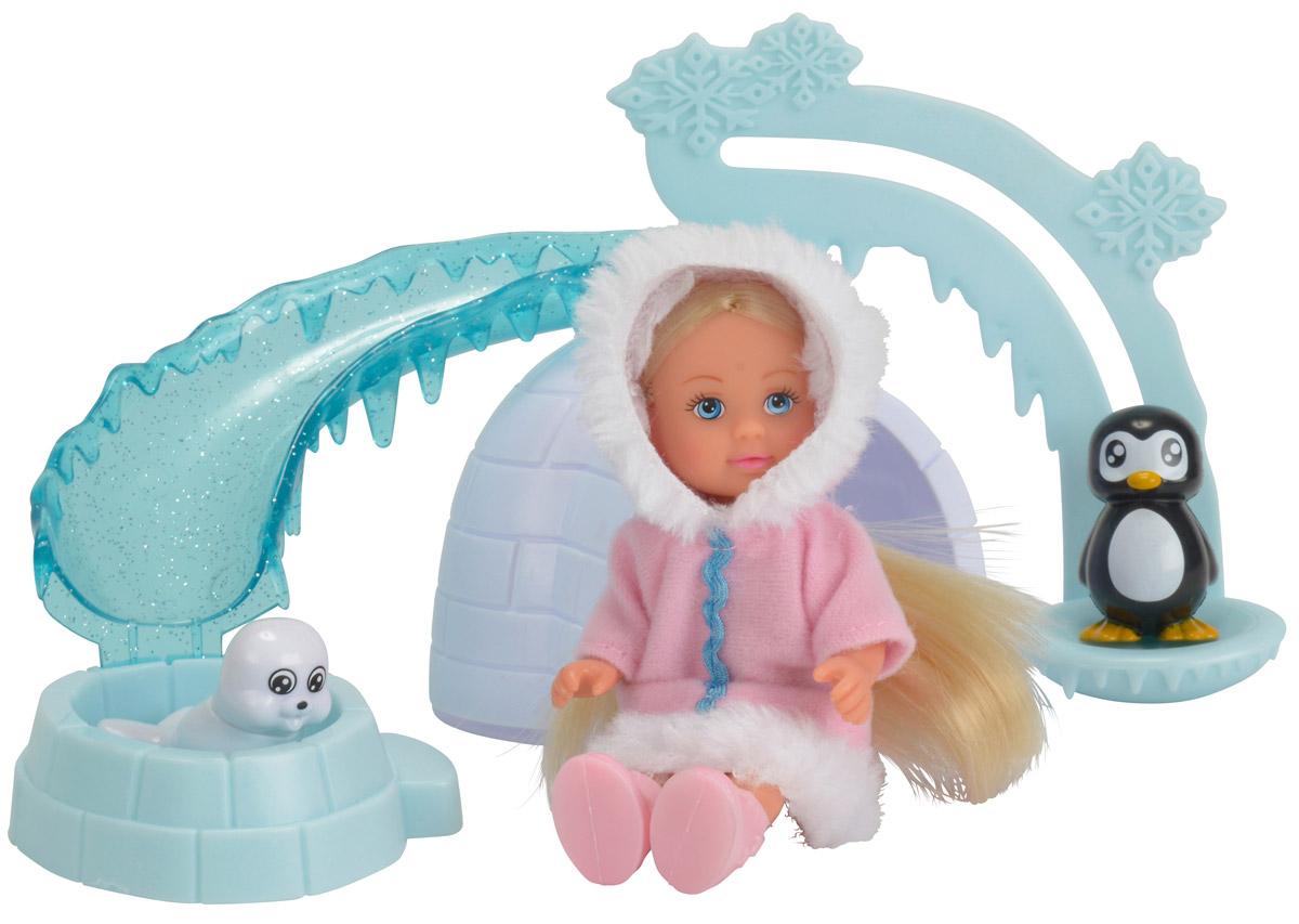 Simba Игровой набор Еви на северном полюсе simba игровой набор с мини куклой evi love fairy carriage
