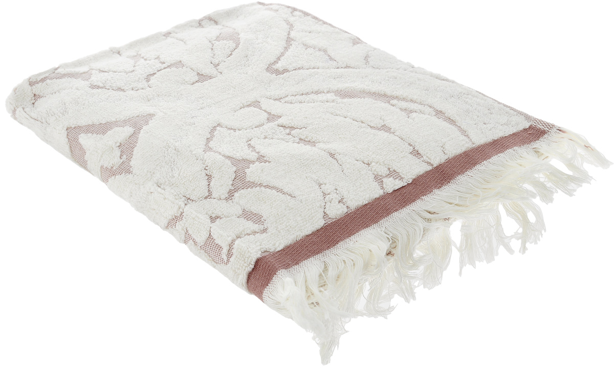 Полотенце Guten Morgen Лакшми, цвет: бежевый, 50 х 90 см кислотные красители в алматы