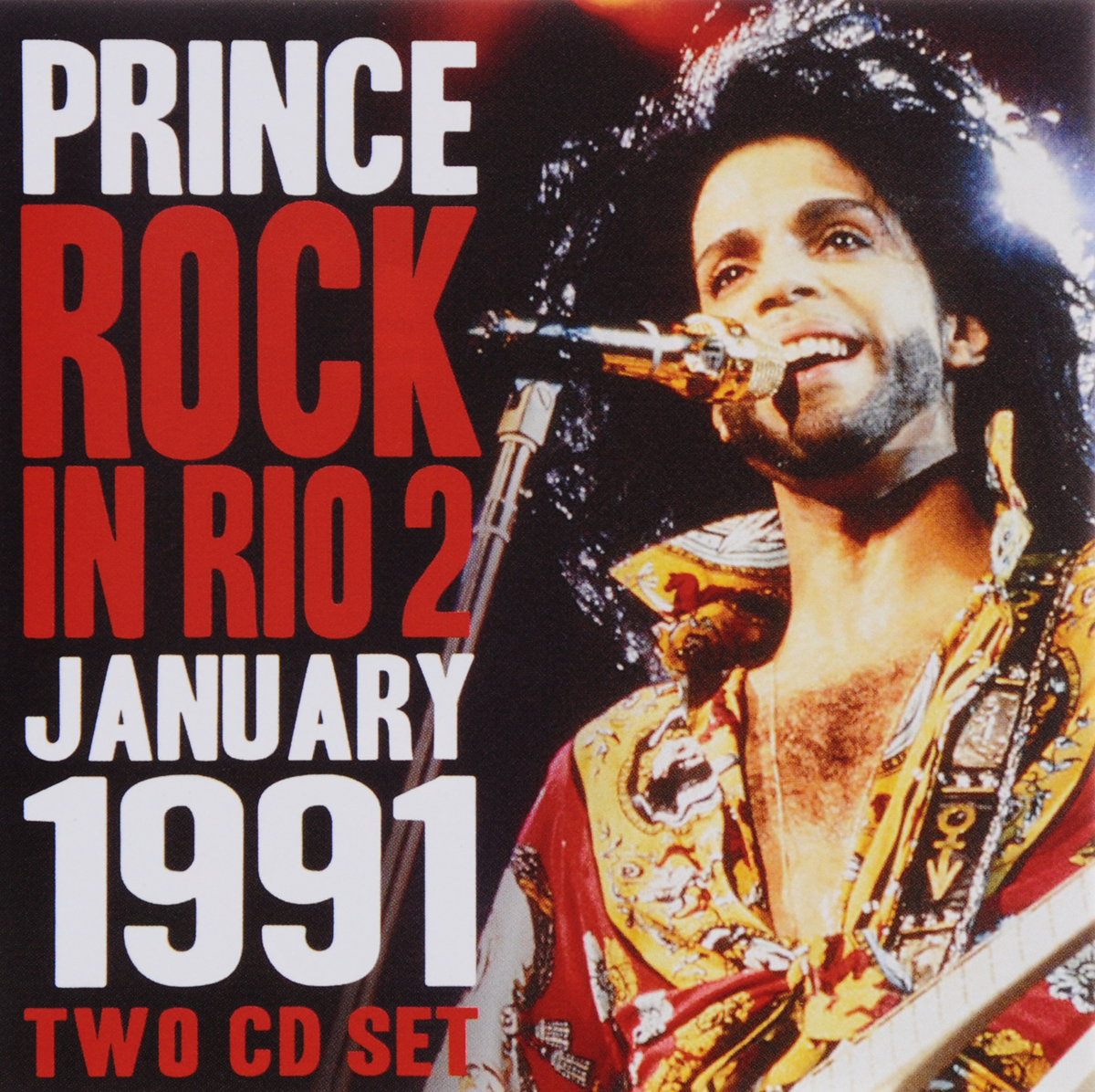 Принц Prince. Rock In Rio 2 (2 CD)