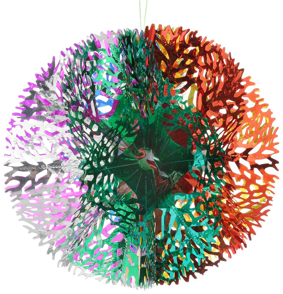 Украшение новогоднее подвесное Magic Time, 16 х 29 см украшение новогоднее оконное magic time дед мороз с самоваром двустороннее 30 х 32 см