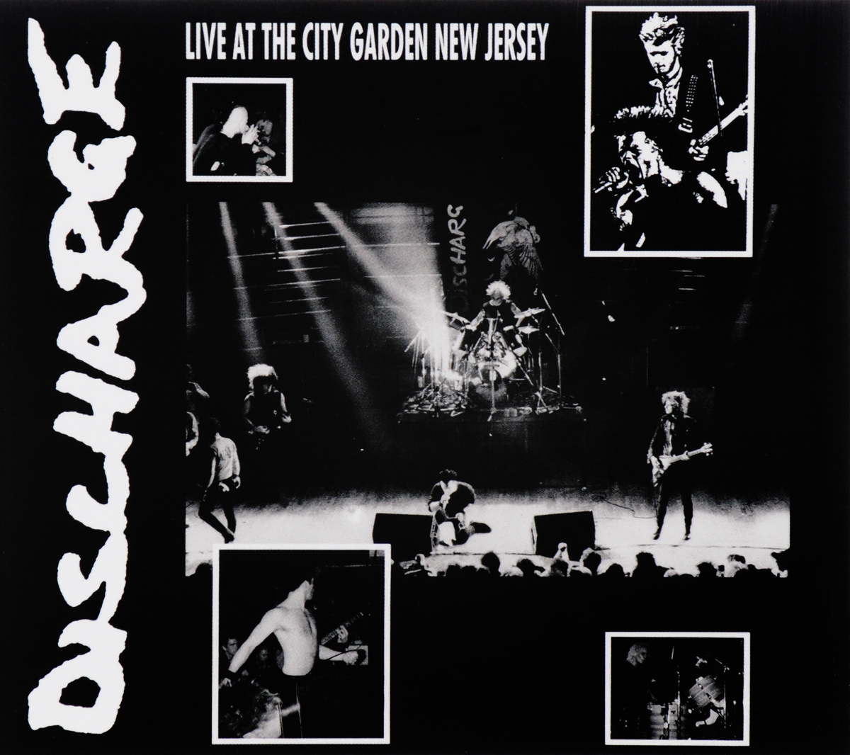 Zakazat.ru: Discharge. Live At City Garden New Jersey