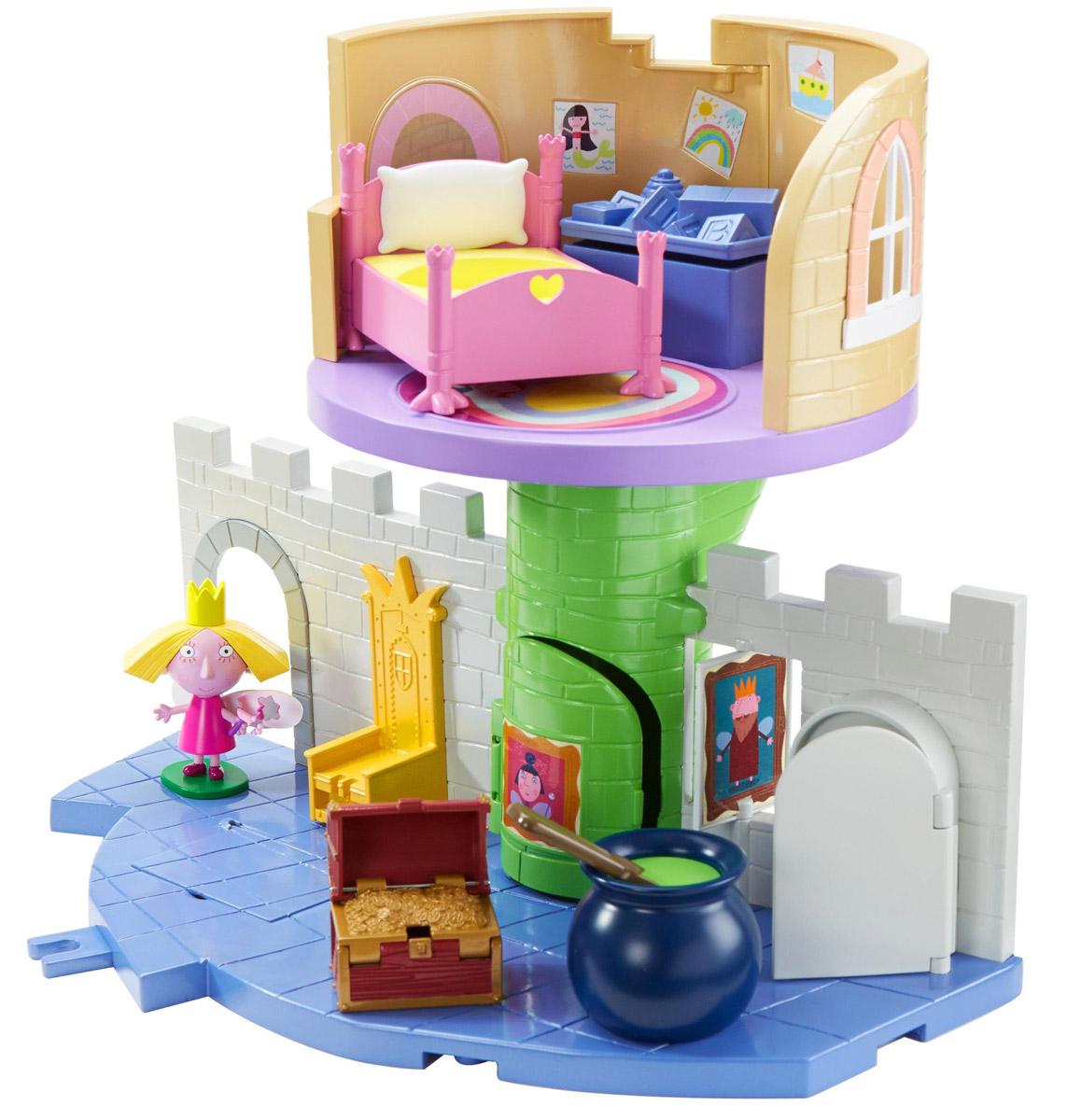 Ben&Holly Дом для кукол Волшебный замок elc дом для кукол сказочный замок с персонажами