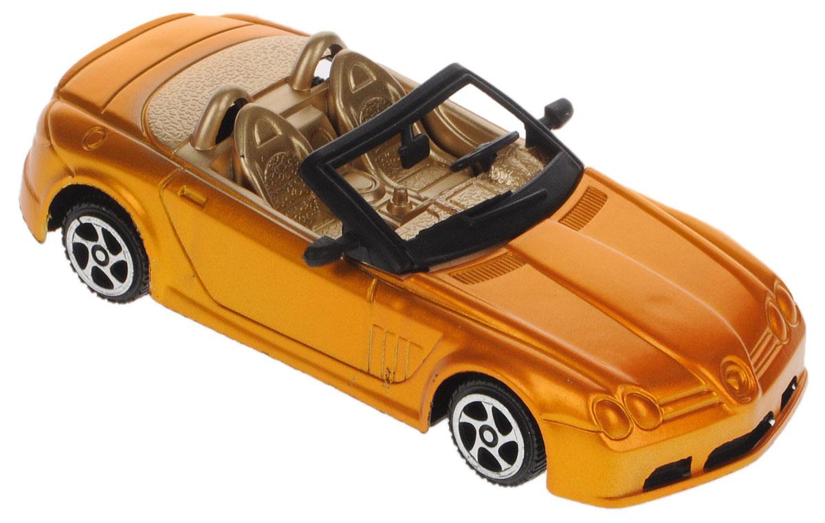 Junfa Toys Машинка инерционная цвет оранжевый металлик