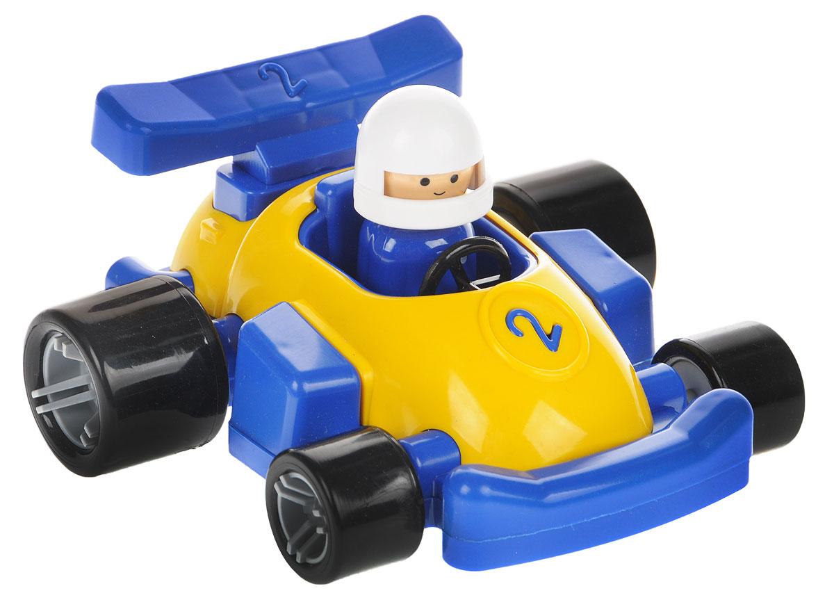 Форма Гоночная машинка Молния цвет синий желтый конструкторы meccano игрушка meccano гоночная машина р у 2 модели