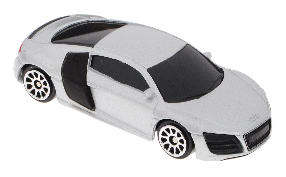 Uni-FortuneToys Модель автомобиля Audi R8 V10 цвет серебристый uni fortunetoys модель автомобиля volkswagen touareg