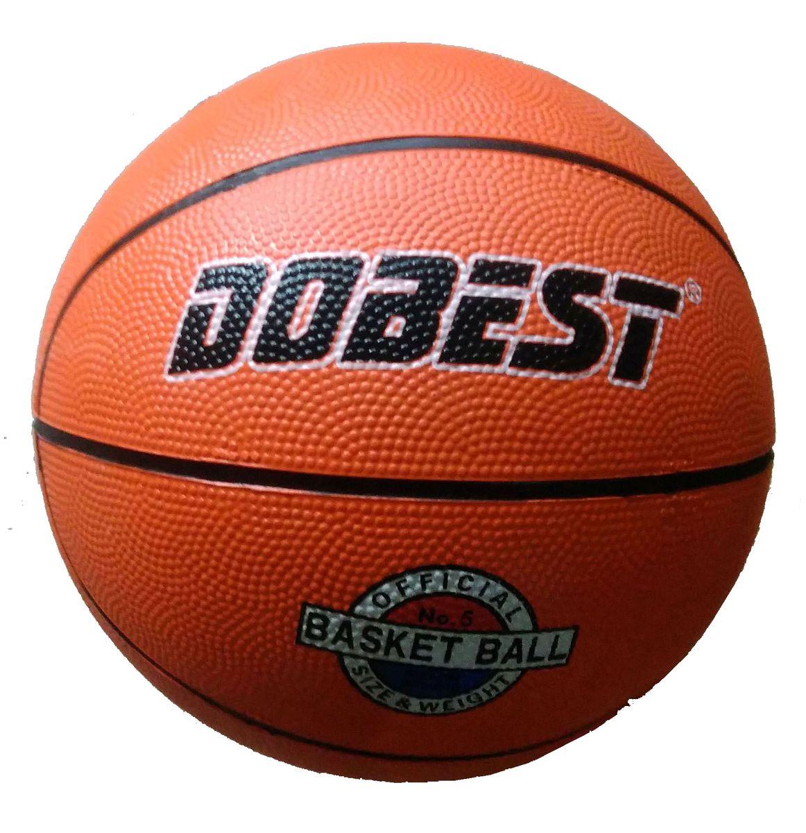 Мяч баскетбольный Dobest RB5, цвет: оранжевый. Размер 528263526Баскетбольный мяч DoBest RB5 рекомендован для мини-баскетбола и подростковых команд, за которые играют дети в возрасте до 12 лет. Ни для кого не секрет, что активные нагрузки очень полезны для человеческого организма. А баскетбол, - это одна из тех игр, в которых активно работают практически все мышцы тела, тренируются лёгкие, выносливость.Этот мяч подходит для игры на улице и в зале.