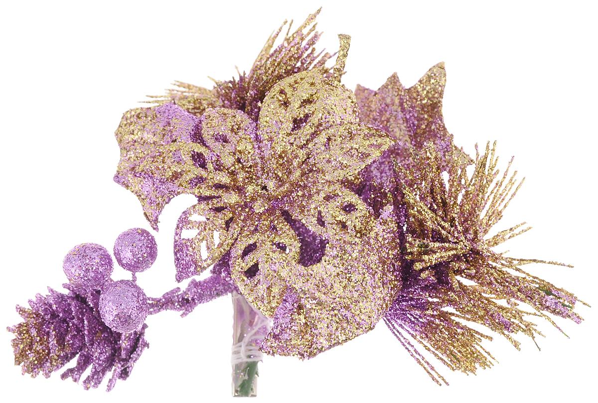 Украшение новогоднее Феникс-Презент Цветок, 13 х 12 х 4 см42491Новогоднее украшение Феникс-Презент Цветок выполнено из поливинилхлорида в форме необычного цветка на клипсе. Украшение можно прикрепить в любом понравившемся вам месте. Но, конечно, удачнее всего оно будет смотреться на праздничной елке.Елочная игрушка - символ Нового года. Она несет в себе волшебство и красоту праздника. Создайте в своем доме атмосферу веселья и радости, украшая новогоднюю елку нарядными игрушками, которые будут из года в год накапливать теплоту воспоминаний.