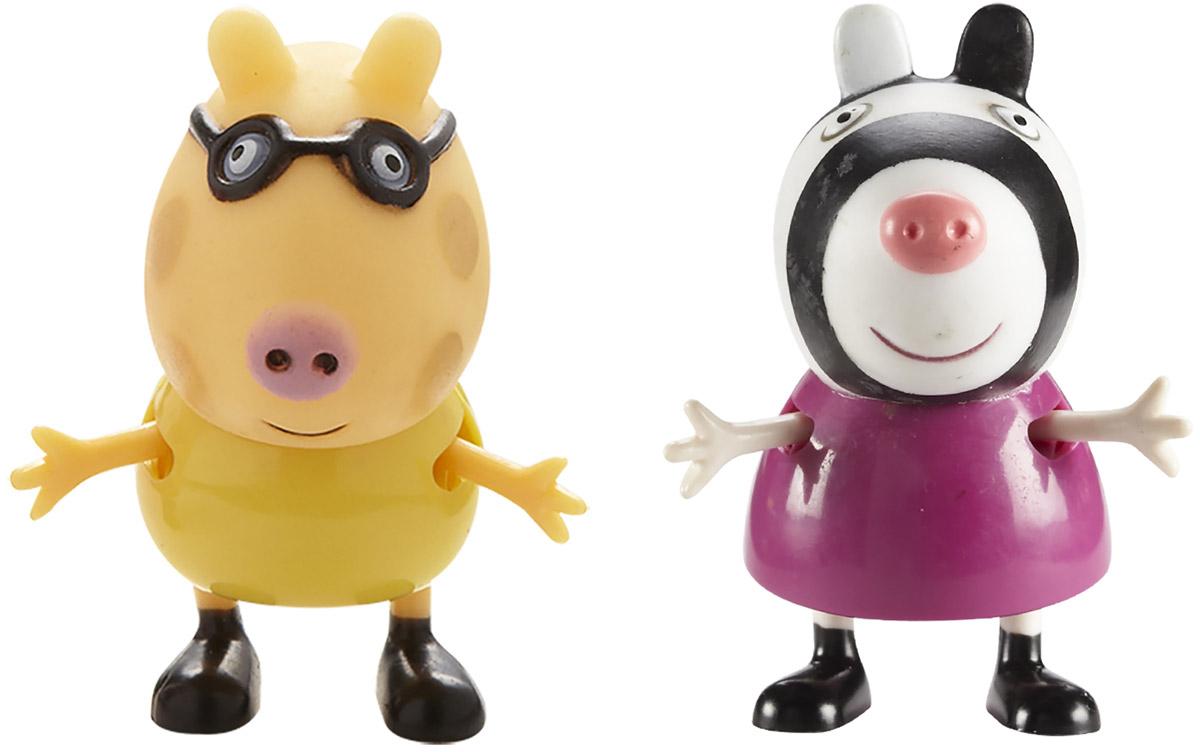 Peppa Pig Набор фигурок Педро и Зои фигурка peppa pig неваляшка зебра зои 2 предмета 28807