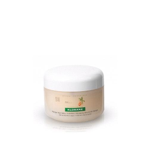 Klorane Dry Hair Маска с маслом манго питательно-восстанавливающая, 150 млC05821Восстанавливает очень сухие и поврежденные волосы. Насыщенная текстура маски глубоко питает и защищает волосы, не утяжеляя их.