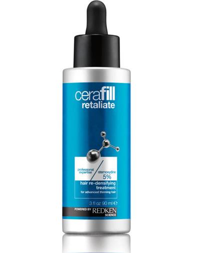 Redken Cerafill Retaliate Ежедневный несмываемый уход для роста волос, 90 млE1030300Ежедневный уход для кожи головы со стемоксидином 5% предназначен для сильно истонченных волос. Обеспечивает рост 1700 новых волос за всего за 3 месяца!