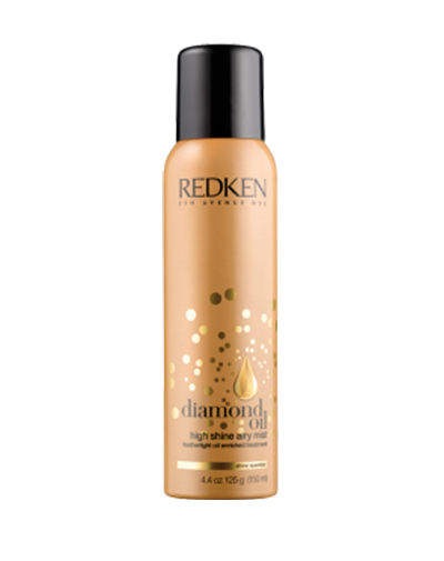 Redken Diamond Oil Airy Mist Спрей-масло для увлажнения и блеска, 150 млE1122200Революционно новый спрей блеск для волос - лечение, возрождение и укрепление тусклых и тонких волос.Спрей Diamond Oil Airy Mist - бриллиантовый блеск для волос, легкий спрей-масло в уникальном формате аэрозоля, который поможет добавить плотности тонким волосам, придать им блеск бриллиантов, станет идеальным завершением любого образа.