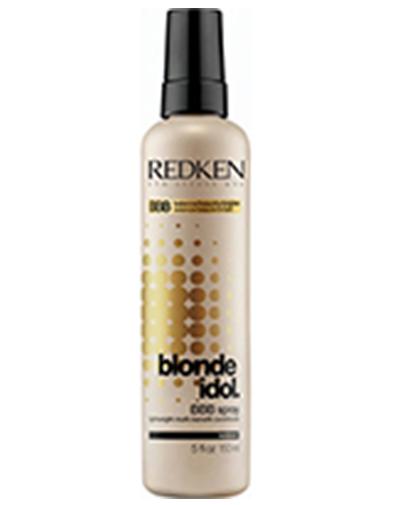 Redken Blonde Idol BBB Легкий многофункциональный спрей-уход, 150 млP0898000Несмываемый BBB легкий многофункциональный спрей-уход для волос блонд воздействующий на волосы по всей длине, восстанавливая, увлажняя и придавая блеск волосам. Спрей защищает волосы от термического воздействия при использовании термощипцов.