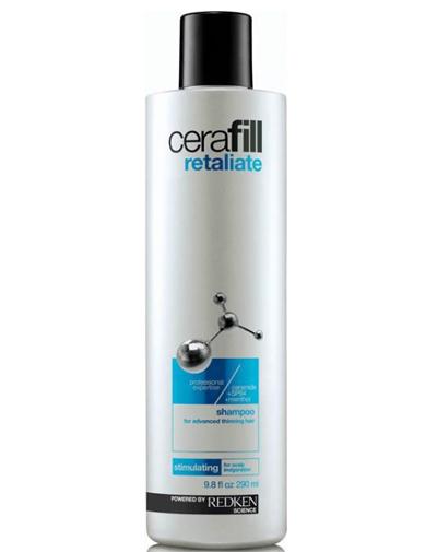 Redken Cerafill Retaliate Шампунь для стимуляции роста волос, 290 млP0915400Шампунь для сильно истонченных волос со стимулирующим ментолом бережно очищает волосы и кожу головы. Содержит в себе керамиды, укрепляющие волосы, и SP-94, питающий и поддерживающий здоровую среду кожи головы для улучшения состояния при истончении волос.Ментол обеспечивает охлаждающий и стимулирующий эффект на коже головы.