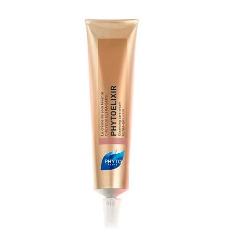 Phytosolba Phytoelixir Очищающий крем-уход для сухих волос, 75 млP554Мгновенный эффект, который длится в течение нескольких дней: легкие, блестящие, невероятно мягкие волосы, хорошо поддающиеся укладке.- Мягко очищает кожу головы; - Мгновенное насыщение липидами; - Эффект длится несколько дней: - Не содержит ПАВ; - Не утяжеляет волосы.