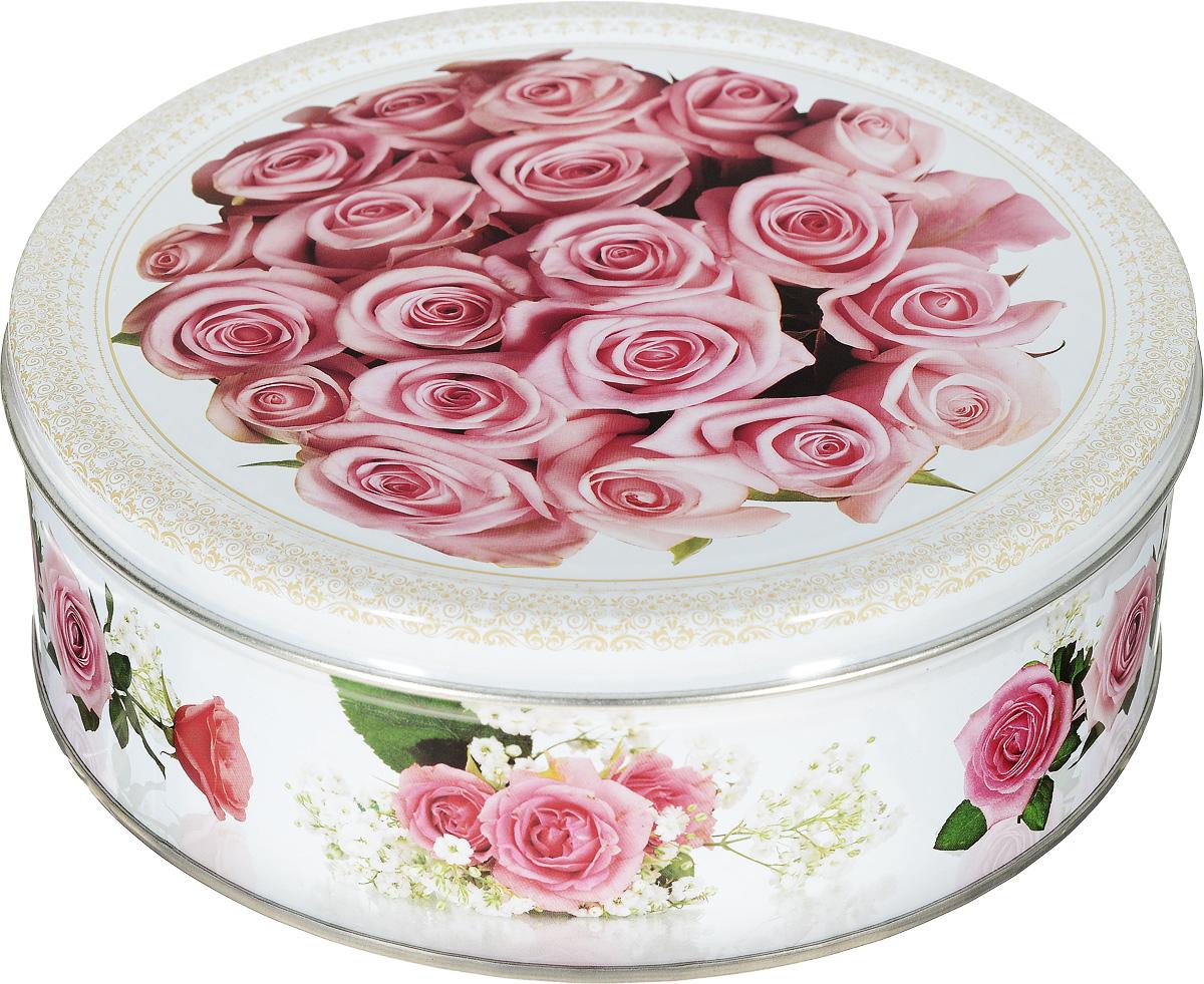 Monte Christo Розовый этюд печенье с кокосовой стружкой, 400 гMC-4-26_розовые розыПеченье Monte Christo в нежной банке с изображением букета роз станет отличным подарком на любой праздник для прекрасной женщины. Печенье с кокосовой стружкой не только вкусное, но и полезное. Натуральные ингредиенты, сливочное масло, кукурузный крахмал и пшеничная мука, входящие в состав продукта, содержат целый ряд витаминов, минералов и аминокислот.Подарочные банки, так же, как и печенье, производятся на российской фабрике в городе Иваново. После того, как печенье закончится, можно использовать как декоративную шкатулку для хранения различных мелочей, фотографий или других сладостей.