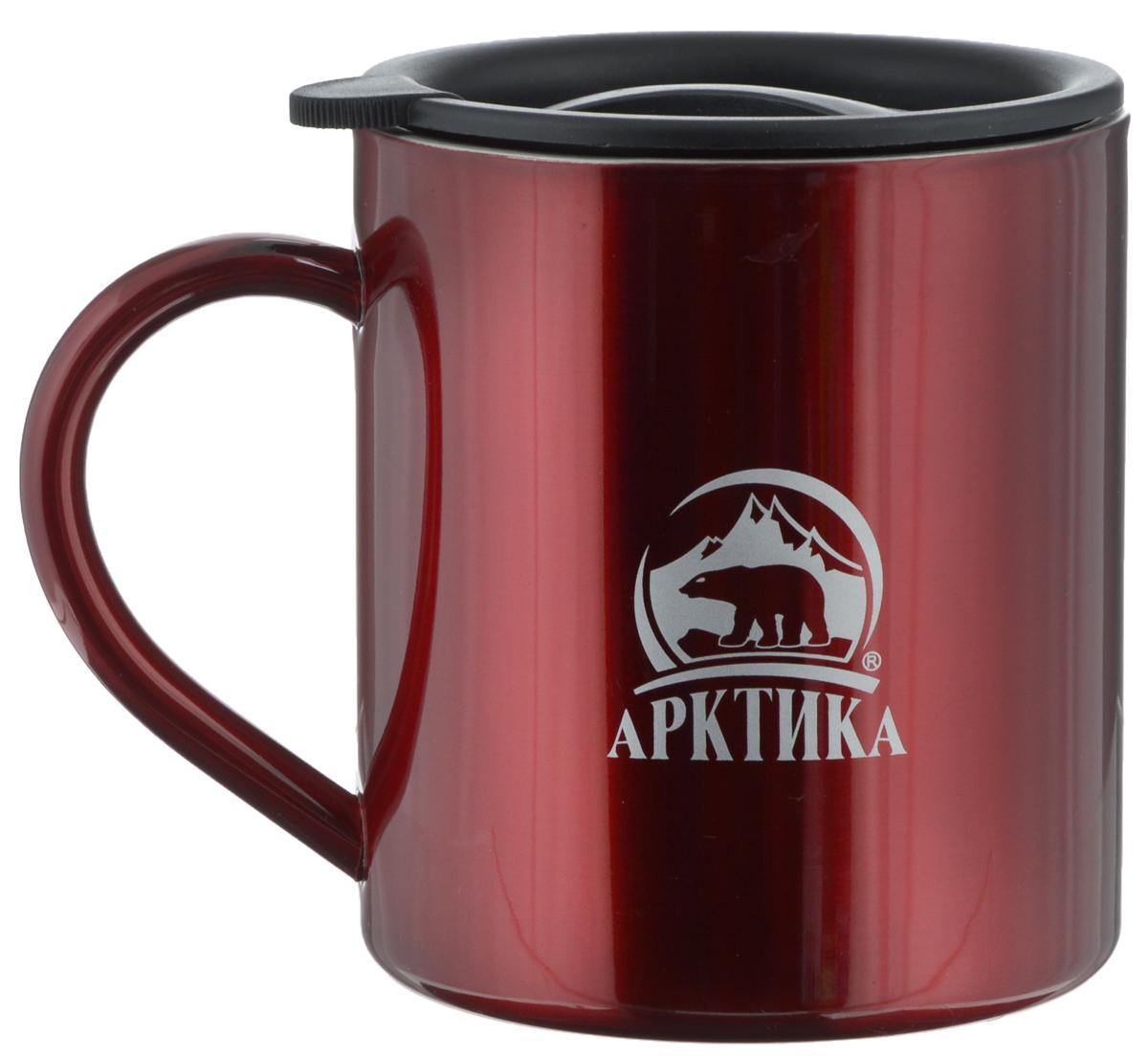 Термокружка Арктика, цвет: красный, 450 мл термокружка экспедиция натуралист 450 мл
