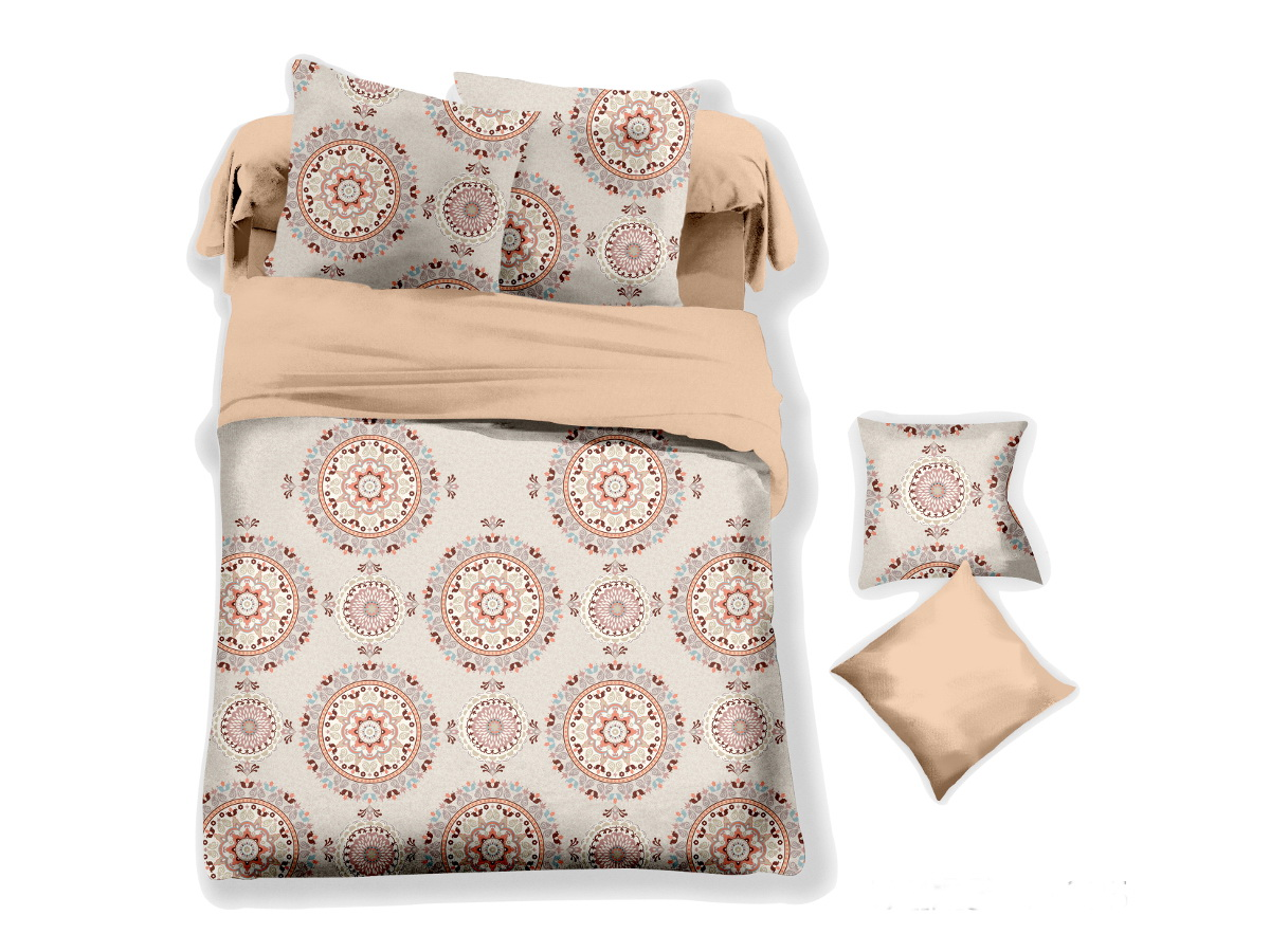 Комплект белья Cleo Калипсо, 2-спальный, наволочки 70х70,20/044-PLКоллекция постельного белья из микросатина CLEO – совершенство экономии, но не на качестве! Благодаря новейшим технологиям микросатин – это прочность, легкость, простота в уходе, всегда яркие цвета после стирки. Микро-сатин набирает все большую популярность, благодаря своим уникальным характеристикам. Окраска материала - стойкая, цветовая палитра - яркая, насыщенная. Микро-сатин хорошо впитывает влагу, а после стирки быстро сохнет, становясь шелковистым на ощупь, мягким и воздушным. Комплект состоит из пододеяльника, двух наволочек и простыни.