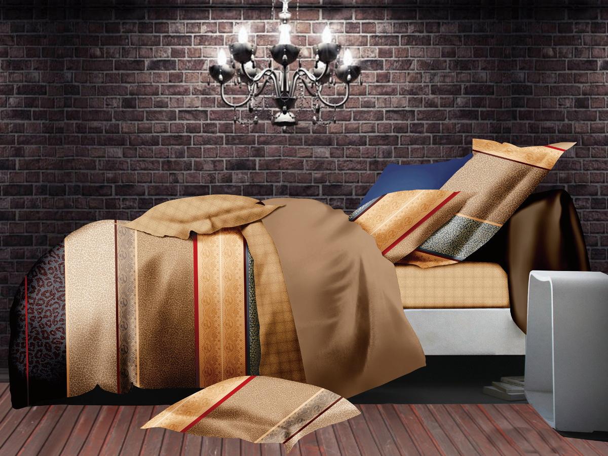 Комплект белья Cleo Бруклен, 1,5-спальный, наволочки 70х7015/003-PLКоллекция постельного белья из микросатина CLEO – совершенство экономии, но не на качестве! Благодаря новейшим технологиям микросатин – это прочность, легкость, простота в уходе, всегда яркие цвета после стирки. Микро-сатин набирает все большую популярность, благодаря своим уникальным характеристикам. Окраска материала - стойкая, цветовая палитра - яркая, насыщенная. Микро-сатин хорошо впитывает влагу, а после стирки быстро сохнет, становясь шелковистым на ощупь, мягким и воздушным. Комплект состоит из пододеяльника, двух наволочек и простыни.