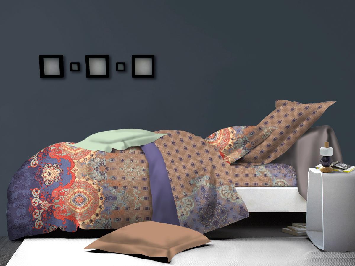 Комплект белья Cleo Вафельный узор, 2-спальный, наволочки 70х7020/010-PLКоллекция постельного белья из микросатина CLEO – совершенство экономии, но не на качестве! Благодаря новейшим технологиям микросатин – это прочность, легкость, простота в уходе, всегда яркие цвета после стирки. Микро-сатин набирает все большую популярность, благодаря своим уникальным характеристикам. Окраска материала - стойкая, цветовая палитра - яркая, насыщенная. Микро-сатин хорошо впитывает влагу, а после стирки быстро сохнет, становясь шелковистым на ощупь, мягким и воздушным. Комплект состоит из пододеяльника, двух наволочек и простыни. Советы по выбору постельного белья от блогера Ирины Соковых. Статья OZON Гид