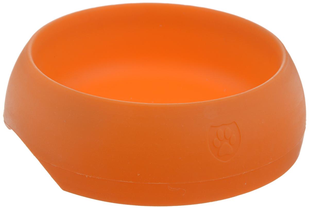 Миска для животных SafeMade Safe Bowl, цвет: оранжевый, 700 мл миска для животных vanness цвет горчичный 236 мл